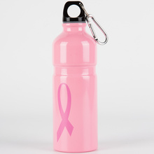 Pink Aluminum Coke Metal Water Sport Bottle