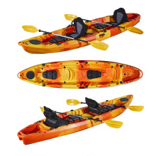 LSF Factory 3700mm Fishing Kayak 2 Persons Seater With Paddle For Sale Malaysia