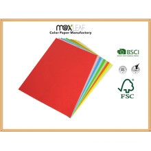 Color Paper Board (225GSM - 5 bright colors mixed)