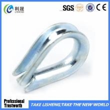 Tipo europeo dedal galvanizado de la cuerda de alambre