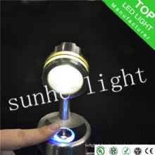 12V LED cheap Spot light 1w 3w rv touch lamp in alibaba