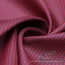 Water & Wind-Resistant Fashion Jacket Down Jacket Tejido Plaid Jacquard 100% poliéster Sea-Island filamento Cation hilado filamento tejido (X056)