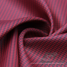 Veste de mode résistant à l'eau et au vent Veste en coton Tissé jacquard 100% Polyester Filament de la filière de la mer Tissu de fil de fil de cation (X056)
