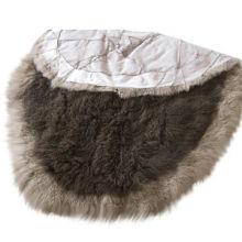 2 x 4-inch Modern Decorative Area Rug in Various Colors, Made of Tibetan/Mongolian Lamb Fur