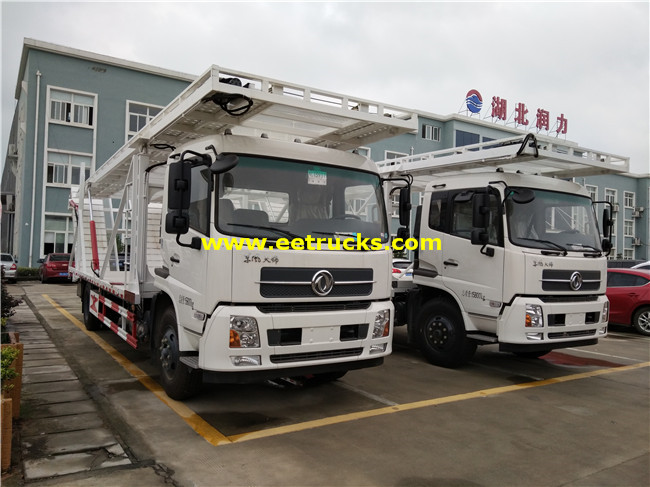 Dongfeng 4x2 4 Cars Tow Trucks