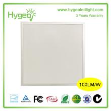 Garantie de 3 ans 600x600 mm Led isolée de panneau lumineux, panneau élastique flexible de 600 * 600, lampe panneau carré de 2 pieds x 2 pieds