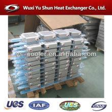 Evaporador de placas / intercambiador de calor aire a aire para compresor de aire / intercambiador de calor de aletas de placa de aluminio fabricante