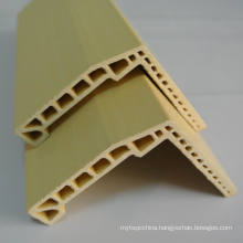 PVC Film Laminated WPC Architrave PVC Laminated Architrave at-65h51