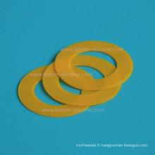 Rondelle annulaire adaptée aux besoins du client de caoutchouc de silicone moulé