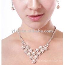 Ensemble de bijoux de mariage de style dernier 2011