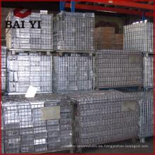 Jaula de almacenamiento del cilindro de gas / Jaula de almacenamiento de metal Venta
