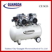 Безмасляный воздушный компрессор CE SGS 65L 800wx2 (GD140)