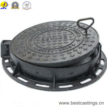 En124 B125 Cast Iron Manhole Cover