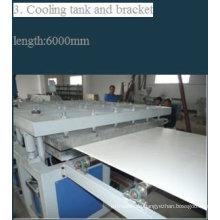 PVC Holz Plastikfußboden Board Produktionslinie