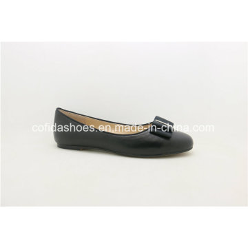 Neueste Comfort Europe Ballerina Pumps Leder Lady Schuh