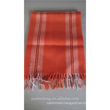Wholesale striped wool scarf