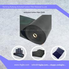 materiales de la ropa tela de fibra de carbono activa