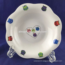 latest porcelain soup bowl made in china