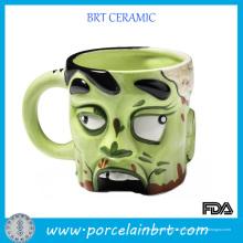 Cadeau de nouveauté de tasse de zombi en céramique créative