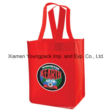 Custom Logo Printing Non-Woven Cloth Recycle Tote Bag for Shopping