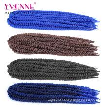 Extensões de cabelo de crochê encaracolado de moda