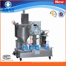 Anti-Explosion Halbautomatische 30L Farbe / Beschichtung Füllmaschine mit Capping