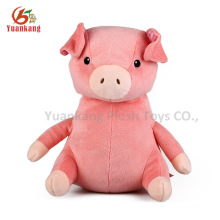 Pink pig soft toy plush pig wholesale