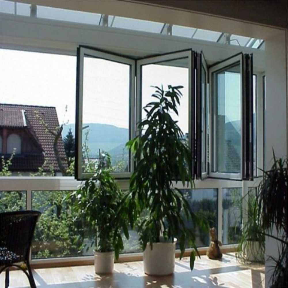 Aluminum Bi Folding Window 1