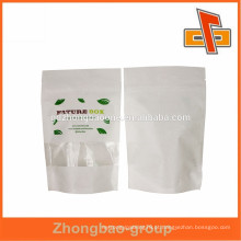 China atacado luz popular impressão colorida seda saco de papel para embalagem