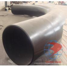 API 5L X56 3D Hot Bend ASME B16.9 et ASME B16.49 Courbe en acier au carbone