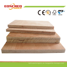 Precio barato y madera contrachapada comercial de alta calidad del grado de los muebles