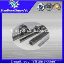 Material metálico engranaje helicoidal con cremallera