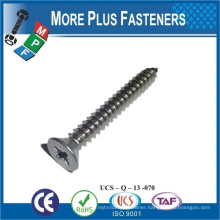 Made in Taiwan csk tapping screw phillips head Self Tapping Screw