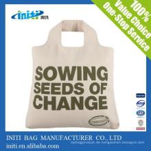 China benutzerdefinierte billige Qualität Wiederverwendbare Bio-Baumwolle Tasche