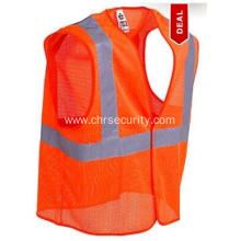 GloWear Orange High Visibility Vest