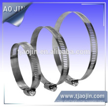 Made in china hoop heavy duty steel pipe rubber hose clamp