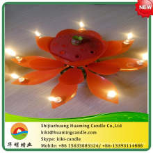 happy birthday candle with auto music /hot sale