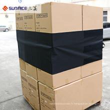 La protection réutilisable noire de cargaison de 480 * 4600mm couvre le film de PVC