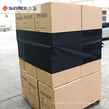 480*4600mm Black Reusable Cargo Protection Covers PVC Film