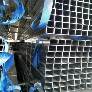 50*50 gi square pipe Q195 Q235 Square ERW Welded Hollow Section Steel Tube