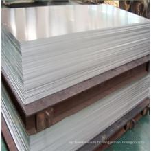 5083 H112 plaque d'aluminium pour navire