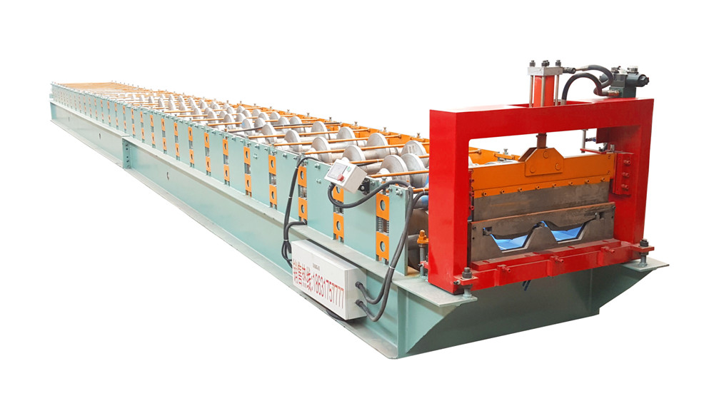 Joint Hidden Roofing Sheet Roll Forming Machine