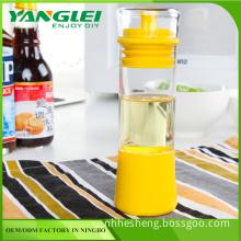 Kitchen Silicone Honey Oil Brush Bottle Cooking Baking Pancake Basting BBQ Tool