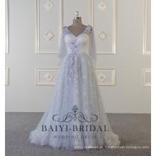 2018 Alibaba Evening Vestidos Mulheres Vestidos De Fiesta Tulle Bead Evening Gown