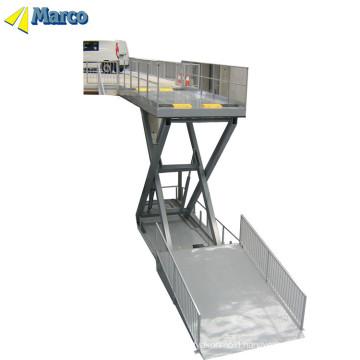 Hydraulic car lift ramps