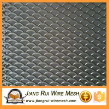Фабричная стоимость оцинкованная алмазная алюминиевая сетка для строительства или отделки