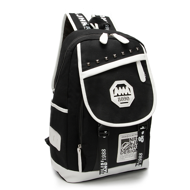 Personalized fashion large capacity Canvas Backpack