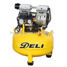 35L 1680RPM noiseless oil free air compressor