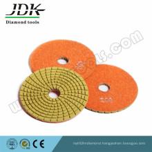 Jdk 100mm Thickness 2.5 mm Diamond Flexible Polishing Pads