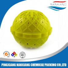 Plastic washing machine ball laundry ball with water treatment ceramic balls